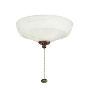 Three-Light Universal Fluroescent Fan Light Kit