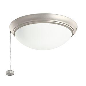 Brushed Nickel Low Profile LED Light Kit