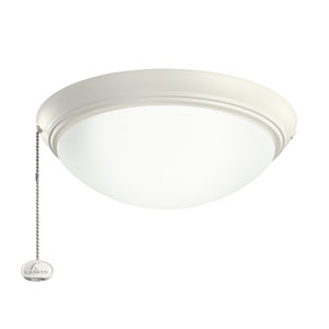 Satin Natural White Low Profile LED Light Kit