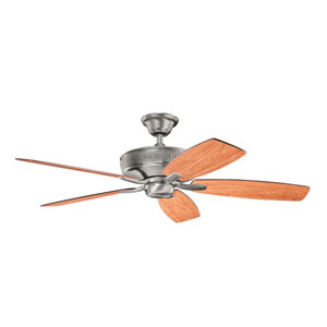 Monarch II Burnished Antique Pewter 52-Inch Ceiling Fan