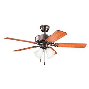 Renew Premier Oil Brushed Bronze Renew Premier 50-Inch Four Light Ceiling Fan