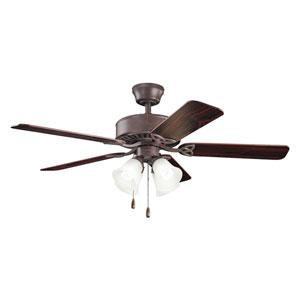 Renew Premier Tannery Bronze Four Light Ceiling Fan