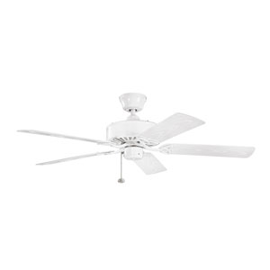 Renew Patio White Indoor and Outdoor Ceiling Fan