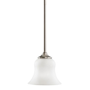 Wedgeport Brushed Nickel Mini Pendant