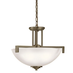 Eileen Olde Bronze Three-Light Pendant
