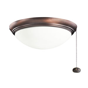 Oil Brushed Bronze Indoor and Outdoor Two Light Fan Kit