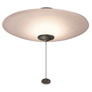 380033MUL 13-Inch Low Profile LED Bowl Fan Light Kit