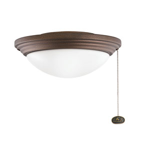 Weathered Copper One-Light Outdoor Wet Light Kit