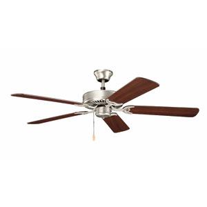 Basics 52-Inch Brushed Nickel Ceiling Fan