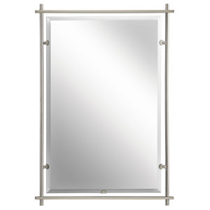 Eileen Brushed Nickel Mirror
