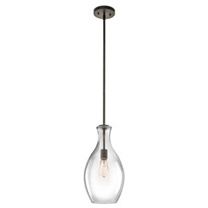 Everly One-Light Olde Bronze Mini Pendant