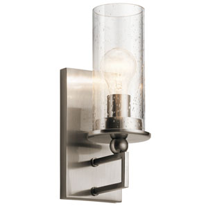 Kayde Classic Pewter Wall Sconce