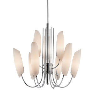 Stella Chrome Nine-Light Chandelier