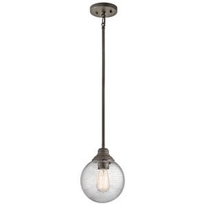 Penelope Olde Bronze One-Light Mini Globe Pendant