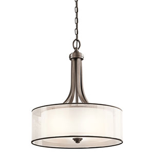 Lacey Mission Bronze Three-Light Pendant