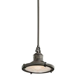 Sayre Olde Bronze One-Light 10-Inch Pendant