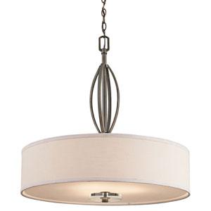 Leighton Olde Bronze Three-Light Pendant