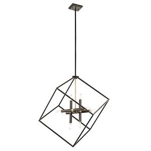 Cartone Olde Bronze Eight-Light Lantern Pendant