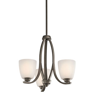 Granby Olde Bronze Three-Light Mini Chandelier
