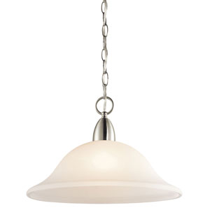Nicholson Brushed Nickel One-Light Pendant