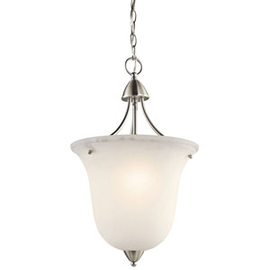 Nicholson Brushed Nickel One-Light Foyer Pendant