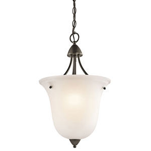 Nicholson Olde Bronze One-Light Foyer Pendant