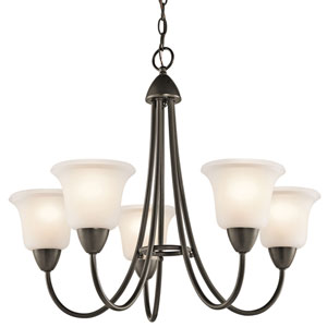 Nicholson Olde Bronze Five-Light Chandelier