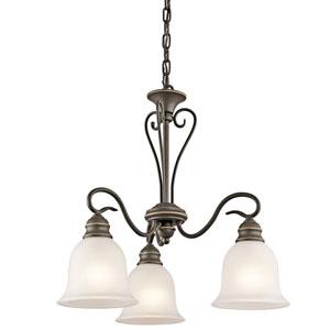 Tanglewood Olde Bronze Three-Light Chandelier