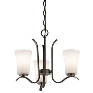 Armida Olde Bronze LED Three-Light Chandelier