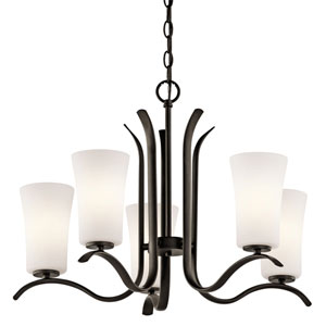 Armida Olde Bronze Five-Light Chandelier