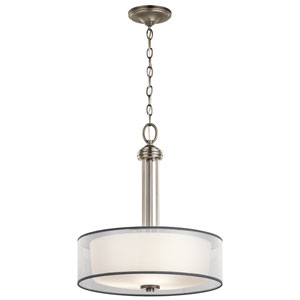 Tallie Antique Pewter Three-Light Pendant