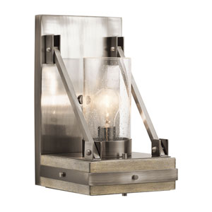 Colerne Classic Pewter One-Light Wall Sconce