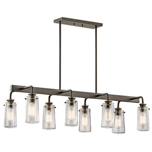 Braelyn Olde Bronze Eight-Light Chandelier