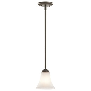 Keiran Olde Bronze One-Light Mini-Pendant