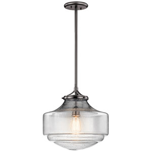 Keller Shadow Nickel  15-InOne-Light Pendant