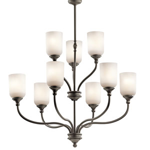 Lilah Olde Bronze Nine-Light Chandelier