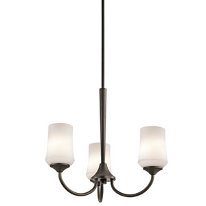 Aubrey Olde Bronze Three-Light Chandelier
