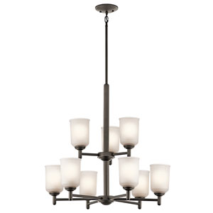 Shailene Olde Bronze Nine-Light Chandelier