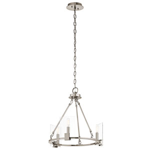 Signata Classic Pewter Three-Light Mini Chandelier