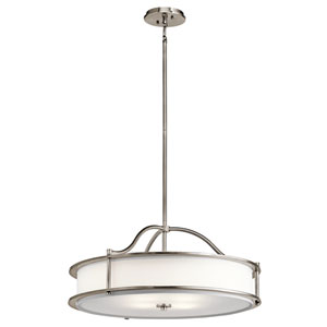 Emory Classic Pewter Three-Light Pendant