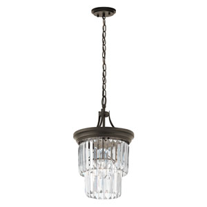 Emile Olde Bronze One-Light Pendant
