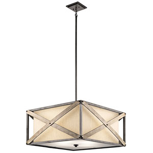 Cahoon Anvil Iron Four-Light Pendant