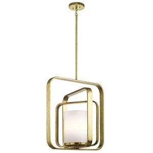 City Loft Natural Brass 20.5-Inch One-Light Pendant
