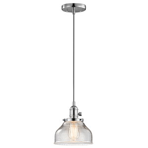 Avery Chrome One-Light Mini Pendant