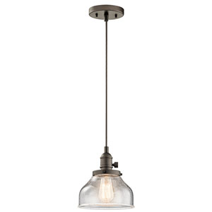Avery Olde Bronze One-Light Mini Pendant