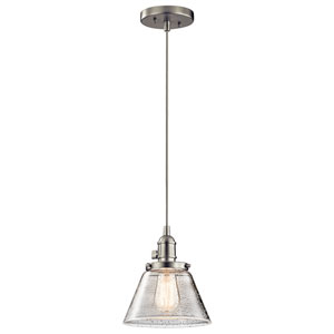 Avery Brushed Nickel One-Light Pendant