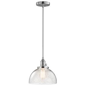 Avery Chrome One-Light Dome Pendant