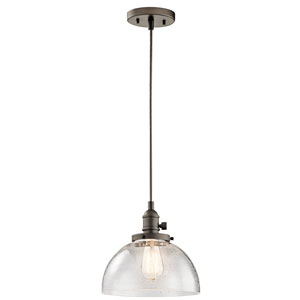 Avery Olde Bronze One-Light Dome Pendant