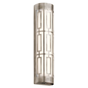 Empire Classic Pewter 20-Inch LED Two-Light Bath Sconce