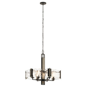 Aberdeen Olde Bronze Six-Light Chandelier
